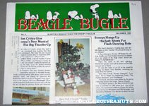 Peanuts Beagle Bugle - December, 1983