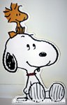 Snoopy & Woodstock Cut-out Display