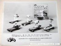 Peanuts Mini Skateboard Toys Aviva Product Sheet