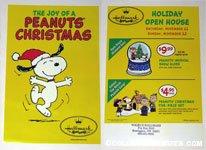 Snoopy Dancing 'Joy' Hallmark Brochure