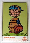 Schroeder Dolly Madison Baseball Card