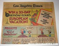L.A. Times April 22, 1979 Comics Section