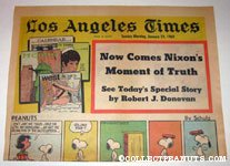 L.A. Times January 19, 1969 Comics Section