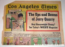 L.A. Times June 15, 1969 Comics Section