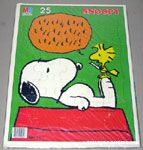 Woodstock reading to Snoopy Puzzle