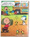 Peanuts on Camp Bus Puzzle
