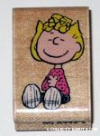Sally Sitting Rubber Stamp