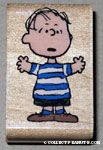 Linus standing Rubber Stamp