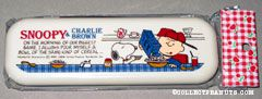 Snoopy & Charlie Brown pouring cereal Chopsticks