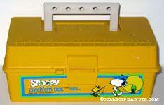Snoopy Catch 'em Box - Yellow