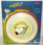 Snoopy throwing flying disc Wham-o Frisbee