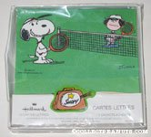 Snoopy & Molly Volley playing Tennis Stationery