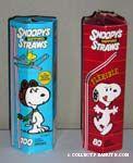 Snoopy Straws