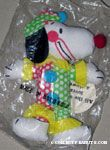 Snoopy dressed as a clown 'All the World loves a clown' Doll
