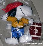 Snoopy Pirate Doll