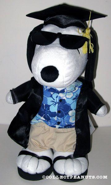 Peanuts Hallmark Graduation Plush Toys