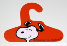 Snoopy Red Hanger