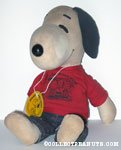 Snoopy wearing Peanuts Gang t-shirt Rag Doll