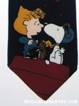 Snoopy kissing Peanuts girls Necktie