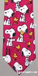 Snoopy and Woodstock poses Necktie
