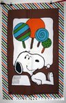 Snoopy with Lollypops Towel