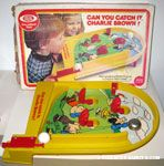 Can you Catch It, Charlie Brown? Pinball Game