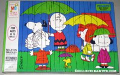 Peanuts Gang in the rain Puzzle