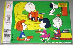 Peanuts Gang reading Puzzle