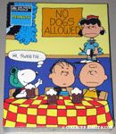 Peanuts Gang in Cafe Puzzle