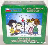 Peanuts Gang around Charlie Brown Christmas Tree Puzzle