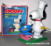 Snoopy World's Greatest Cook Wind-up Action Toy