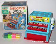 Snoopy Shape Register