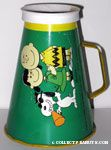 Snoopy, Lucy and Charlie Brown Megaphone - Green