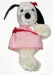 Belle in pink dress Clip-on