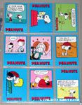 Peanuts Classics Series 1, 28-36 Trading Cards
