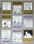 Peanuts Classics Series 2, 253-261 Trading Cards