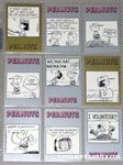 Peanuts Classics Series 2, 316-324 Trading Cards