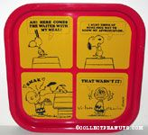 Snoopy & Charlie Brown 'Smak' Comic Metal Tray