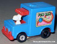 Snoopy in Fun Van
