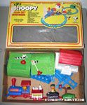 Snoopy Train Set - Battery Operated