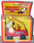 Snoopy's Rescue Squad Fire Truck