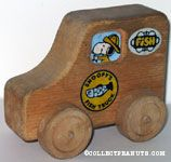 Snoopy's Wooden Fish Truck