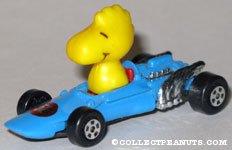 Woodstock in Blue race car