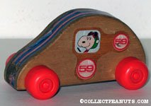Flying Ace Wooden Car