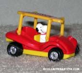 Snoopy in Dune Buggy
