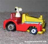 Snoopy in Tow Truck