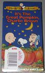 It's the Great Pumpkin, Charlie Brown VHS Video