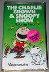 The Charlie Brown & Snoopy Show Volume 2 VHS Video
