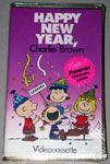 Happy New Year, Charlie Brown VHS Video