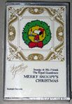 Merry Snoopy's Christmas Cassette Tape